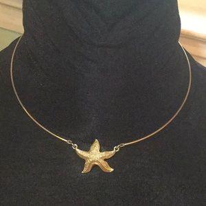 Vintage Sarah Coventry starfish choker